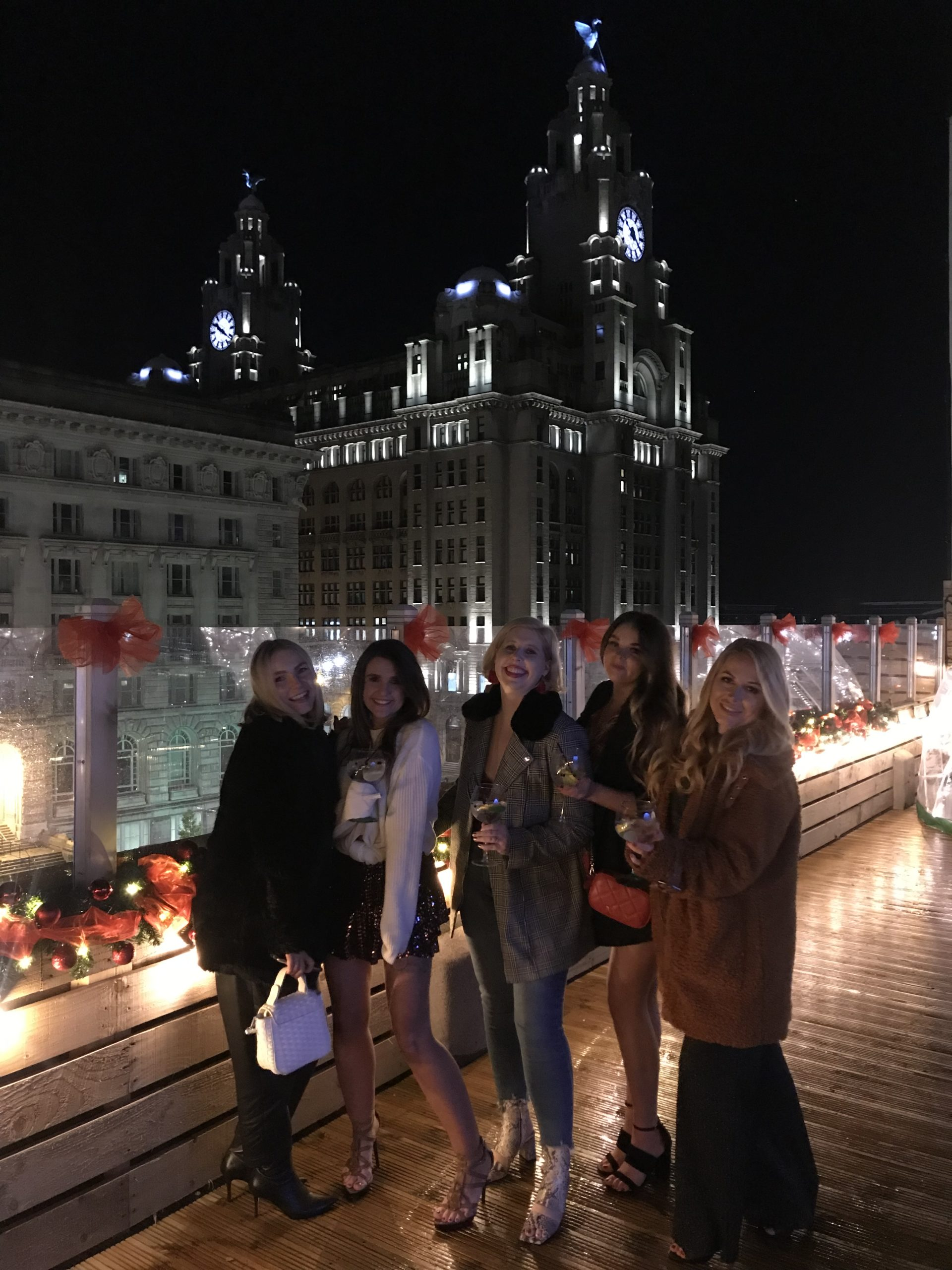 Liberte Liverpool Rooftop Igloos – With the Girls.