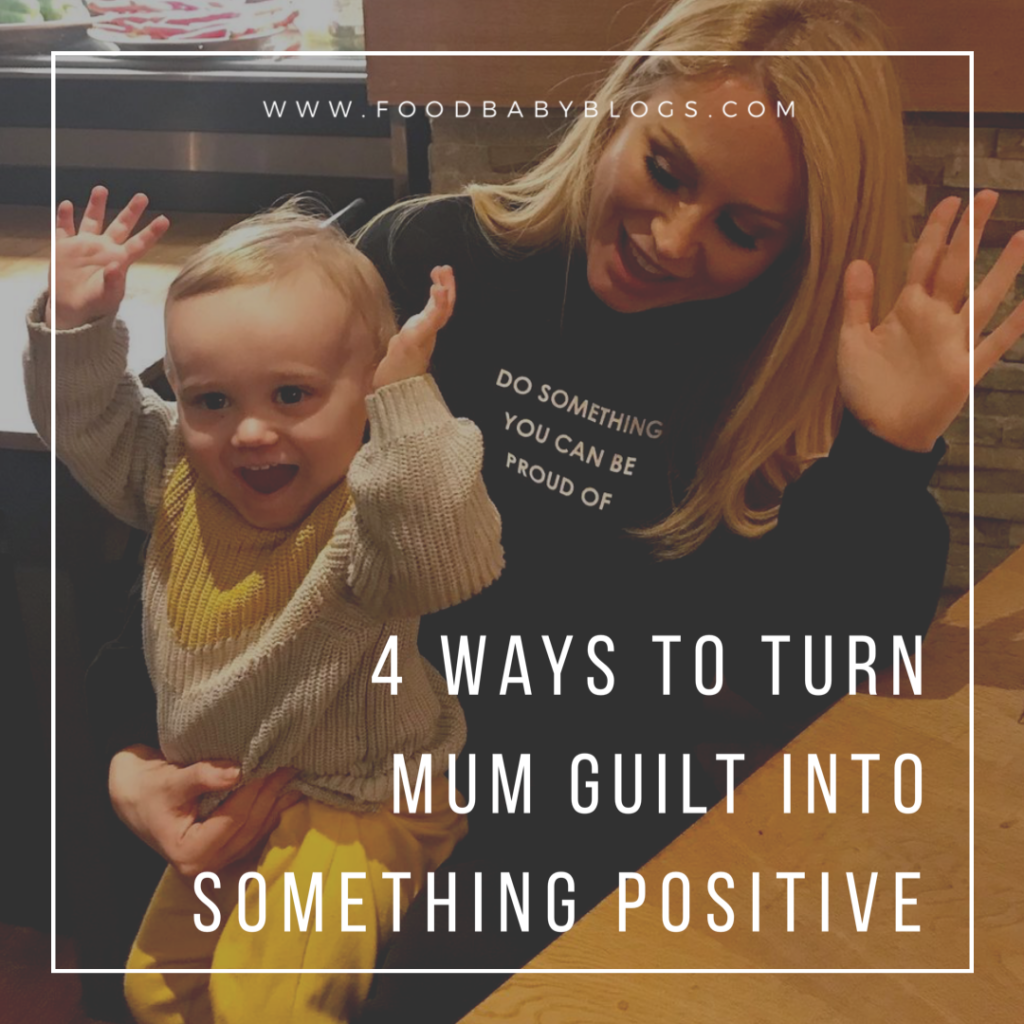 Overcome mum guilt