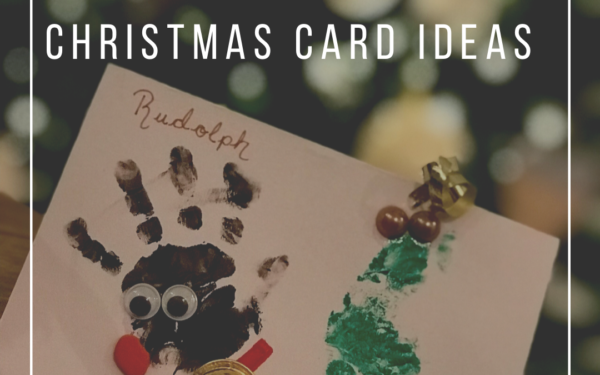 Handprint & Footprint Christmas Cards Ideas
